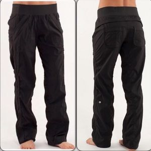 LuLulemon Black Quick Step Studio Pants Size 4